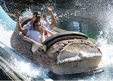 Midway-Log Flume