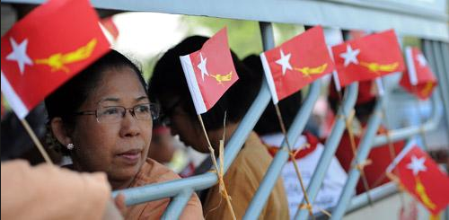 Myanmar Takes a Step Towards Democracy
